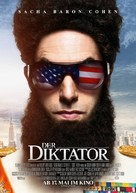The Dictator - German Movie Poster (xs thumbnail)