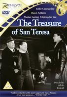 The Treasure of San Teresa - British DVD cover (xs thumbnail)