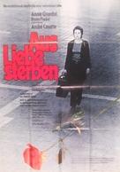 Mourir d'aimer - German Movie Poster (xs thumbnail)
