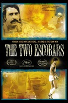 The Two Escobars - DVD cover (xs thumbnail)