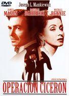 5 Fingers - Spanish DVD movie cover (xs thumbnail)