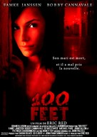 100 Feet - French Movie Poster (xs thumbnail)