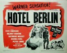 Hotel Berlin - Movie Poster (xs thumbnail)