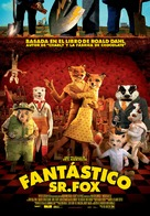 Fantastic Mr. Fox - Spanish Movie Poster (xs thumbnail)