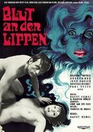 Les lèvres rouges - German Movie Poster (xs thumbnail)