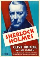 Sherlock Holmes - Swedish Movie Poster (xs thumbnail)