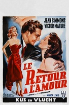 Affair with a Stranger - Belgian Movie Poster (xs thumbnail)