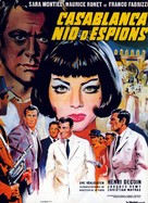 Noches de Casablanca - French Movie Poster (xs thumbnail)