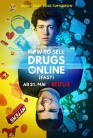 """How to Sell Drugs Online: Fast"" - German Movie Poster (xs thumbnail)"