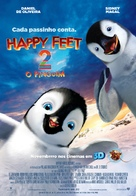 Happy Feet Two - Brazilian Movie Poster (xs thumbnail)