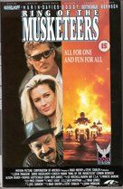 Ring of the Musketeers - British VHS movie cover (xs thumbnail)