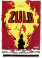 Zulu - Spanish Movie Poster (xs thumbnail)