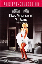 The Seven Year Itch - German VHS movie cover (xs thumbnail)