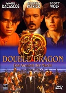 Double Dragon - German DVD cover (xs thumbnail)
