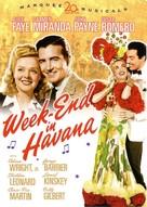 Week-End in Havana - DVD cover (xs thumbnail)