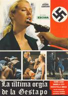 L'ultima orgia del III Reich - Spanish Movie Poster (xs thumbnail)