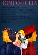 Romeo and Juliet - German Movie Poster (xs thumbnail)