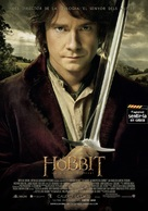The Hobbit: An Unexpected Journey - Andorran Movie Poster (xs thumbnail)