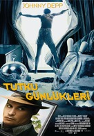 The Rum Diary - Turkish Movie Poster (xs thumbnail)