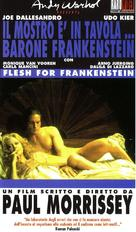 Flesh for Frankenstein - Italian VHS cover (xs thumbnail)