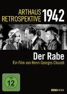 Le corbeau - German DVD cover (xs thumbnail)