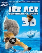 Ice Age: Continental Drift - Blu-Ray movie cover (xs thumbnail)