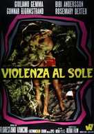 Violenza al sole - Italian Movie Poster (xs thumbnail)