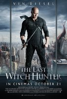 The Last Witch Hunter - British Movie Poster (xs thumbnail)