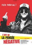 Kunsten å tenke negativt - French Movie Poster (xs thumbnail)