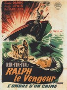 The Wolf Dog - French Movie Poster (xs thumbnail)