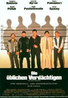 The Usual Suspects - German Movie Poster (xs thumbnail)