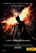 The Dark Knight Rises - Hungarian Movie Poster (xs thumbnail)