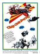 Chitty Chitty Bang Bang - French Movie Poster (xs thumbnail)