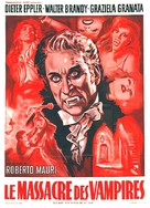 La strage dei vampiri - French Movie Poster (xs thumbnail)