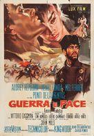 War and Peace - Italian Movie Poster (xs thumbnail)