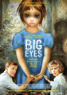 Big Eyes - German Movie Poster (xs thumbnail)