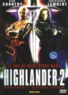 Highlander 2 - Czech DVD cover (xs thumbnail)