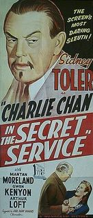 Charlie Chan in the Secret Service - Australian Movie Poster (xs thumbnail)