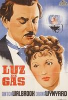 Gaslight - Spanish Movie Poster (xs thumbnail)
