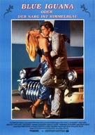 The Blue Iguana - German Movie Poster (xs thumbnail)