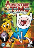 """""""Adventure Time with Finn and Jake"""" - British DVD movie cover (xs thumbnail)"""