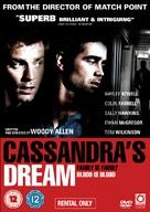 Cassandra's Dream - British DVD cover (xs thumbnail)