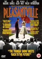 Pleasantville - British DVD movie cover (xs thumbnail)