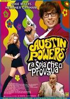 Austin Powers: The Spy Who Shagged Me - Italian Movie Poster (xs thumbnail)