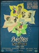 Les belles de nuit - French Movie Poster (xs thumbnail)