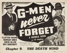 G-Men Never Forget - Movie Poster (xs thumbnail)
