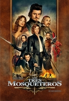 The Three Musketeers - Argentinian DVD movie cover (xs thumbnail)