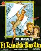 The Crimson Pirate - Spanish Movie Poster (xs thumbnail)