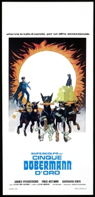 The Amazing Dobermans - Italian Movie Poster (xs thumbnail)