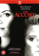 The Accused - British DVD movie cover (xs thumbnail)